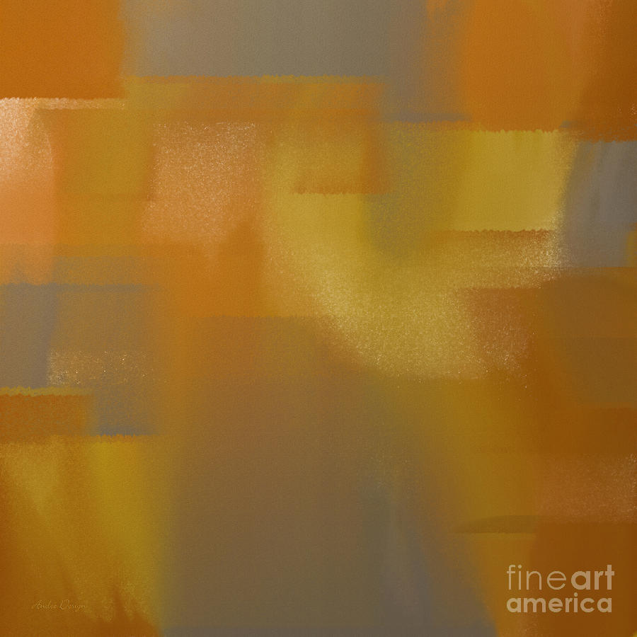 White Digital Art - Precious Metals Abstract 2 by Andee Design