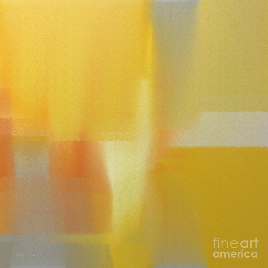 White Digital Art - Precious Metals Abstract 3 by Andee Design