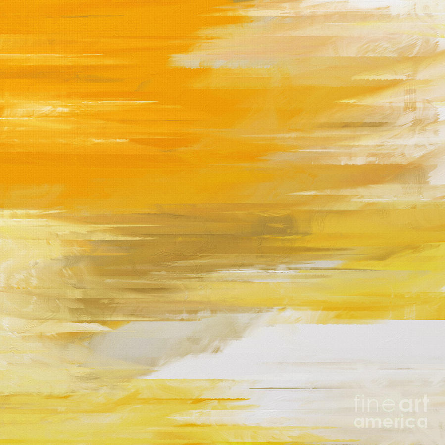 Abstract Digital Art - Precious Metals Abstract by Andee Design