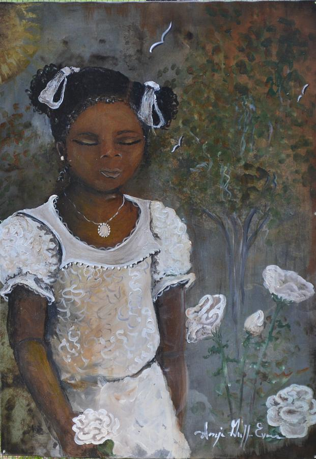 Girls Bedroom Painting - Precious by Sonja Griffin Evans