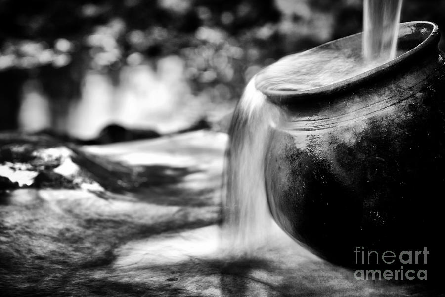 Water Pump Photograph - Precious Water by Tim Gainey