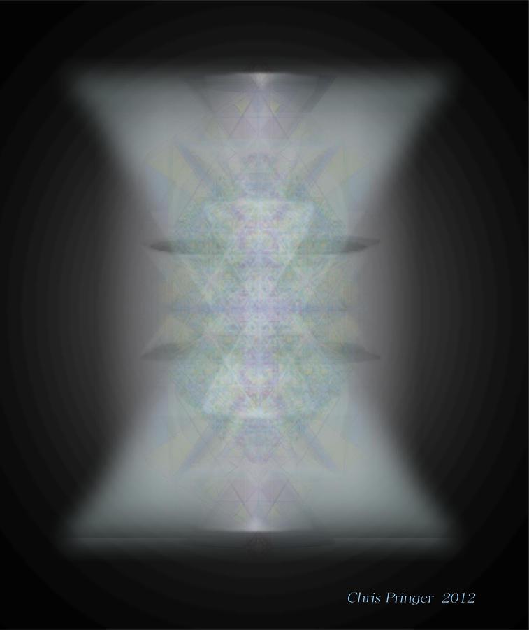 Light Digital Art - Predawn Chalice Still All One by Christopher Pringer
