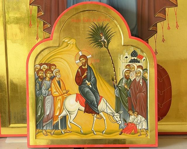 Russian Orthodox Painting - Preobrazheniye by Natalia Aglitskaya