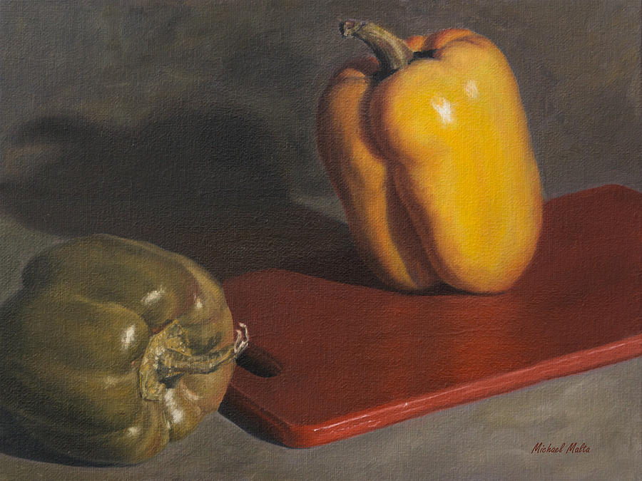 Still Life Painting - Prepping by Michael Malta