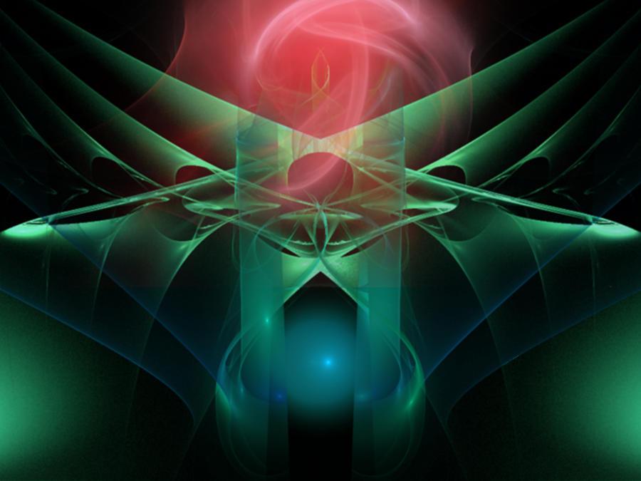 Rose Digital Art - Presenting A Rose by Elizabeth S Zulauf