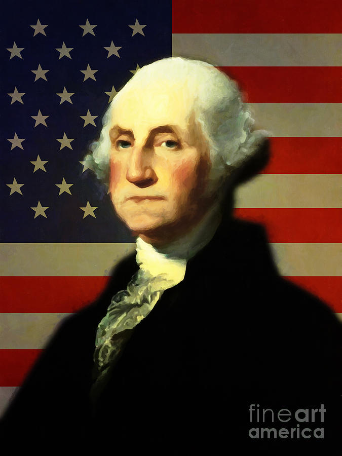 a brief biography of george washington 1st president of the united states of america