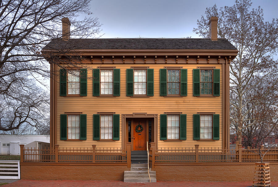 President Lincoln Home Springfield Illinois Photograph