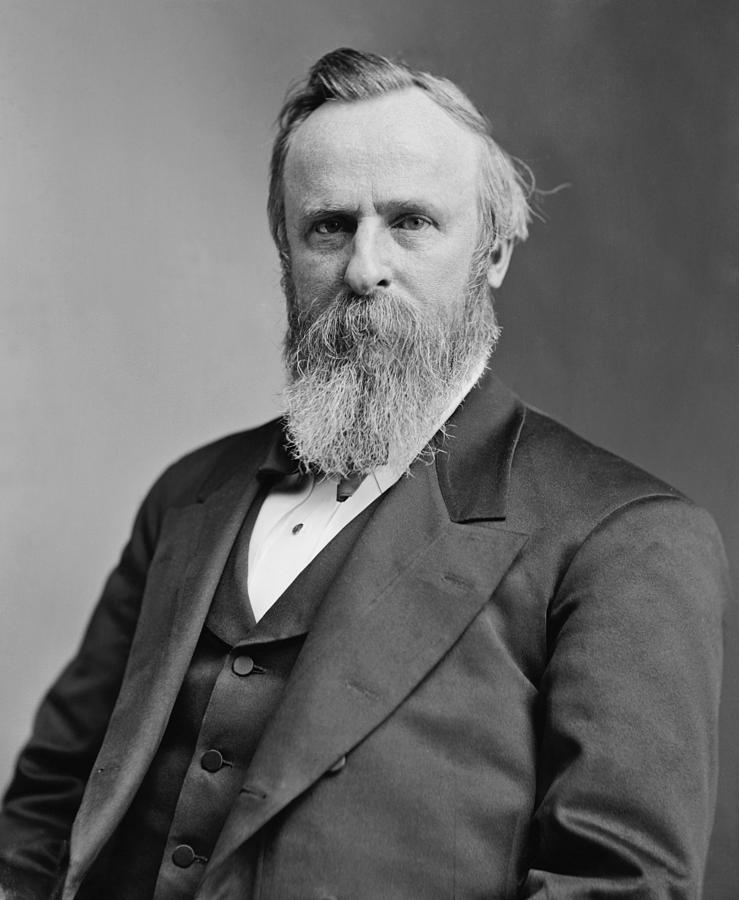 Rutherford B Hayes Photograph - President Rutherford Hayes by War Is Hell Store