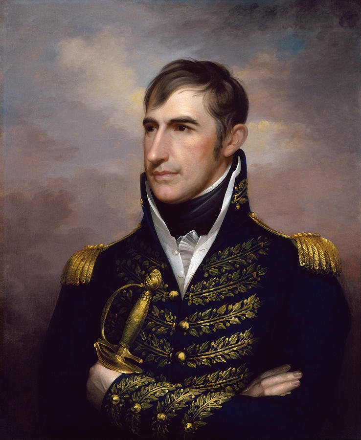 William Henry Harrison Painting - President William Henry Harrison by War Is Hell Store