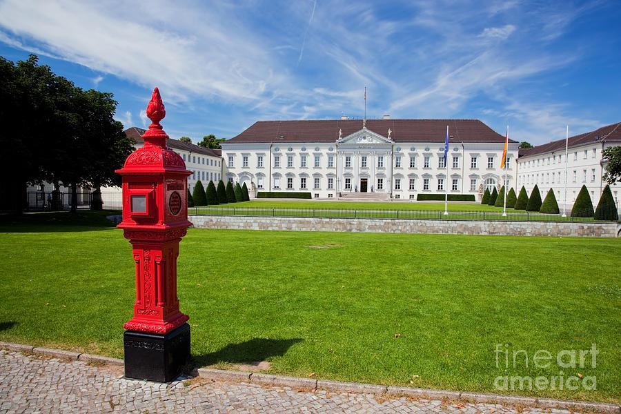 Schloss Photograph - Presidential Palace Berlin Germany by Michal Bednarek