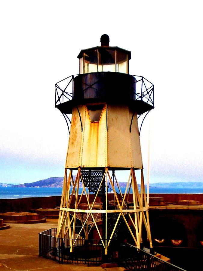 Presidio Photograph - Presidio Lighthouse by Sharon Costa
