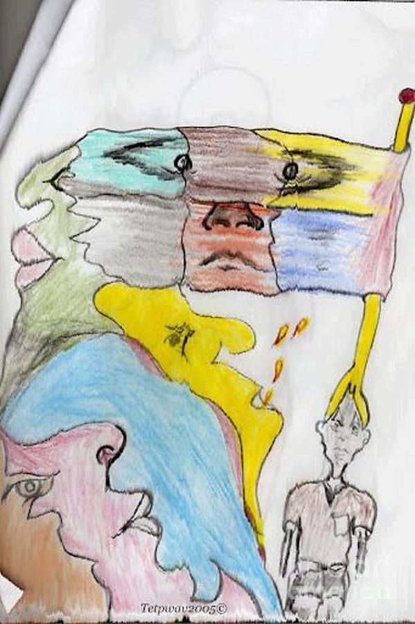Pressure Digital Art by Pwavarts T-Rasta
