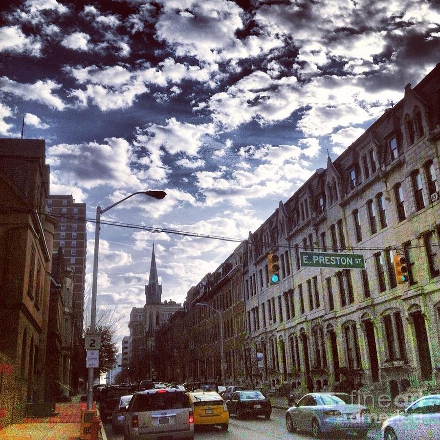 Baltimore Photograph - Preston And St. Paul by Toni Martsoukos