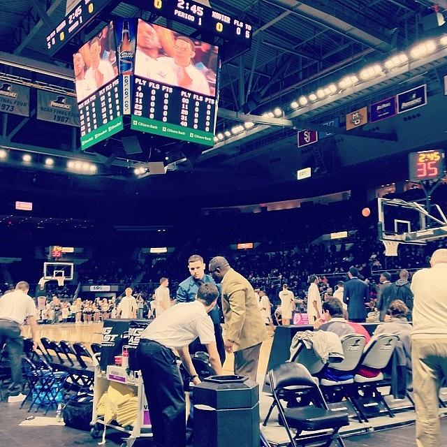 Xavier Photograph - Pretty Good Seats! #xavier, #musketeers by Kate C