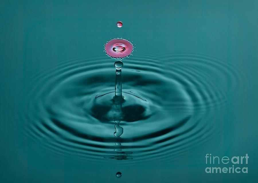 Creative Photograph - Pretty Liquid Pink Hat by Susan Candelario