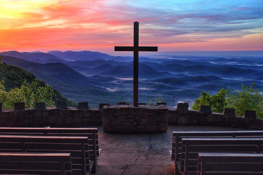 Pretty Place Chapel Sunrise Photograph By Chris Berrier
