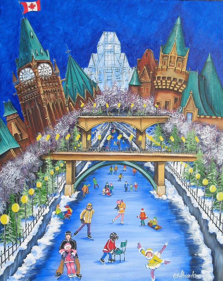 Pride of ottawa no 1 painting by jill alexander ottawa painting pride of ottawa no 1 by jill alexander thecheapjerseys Images