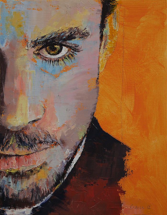 Priest Painting - Priest by Michael Creese