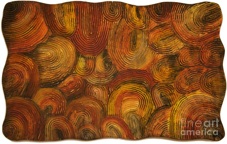 Neolithic Painting - Primal Women Abstract I by Kristen R Kennedy