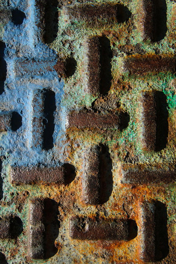Primary Photograph - Primary. Secondary..rust... by Artist Orange