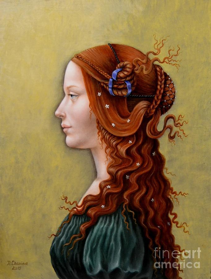 Primavera Painting By Nathalie Chavieve