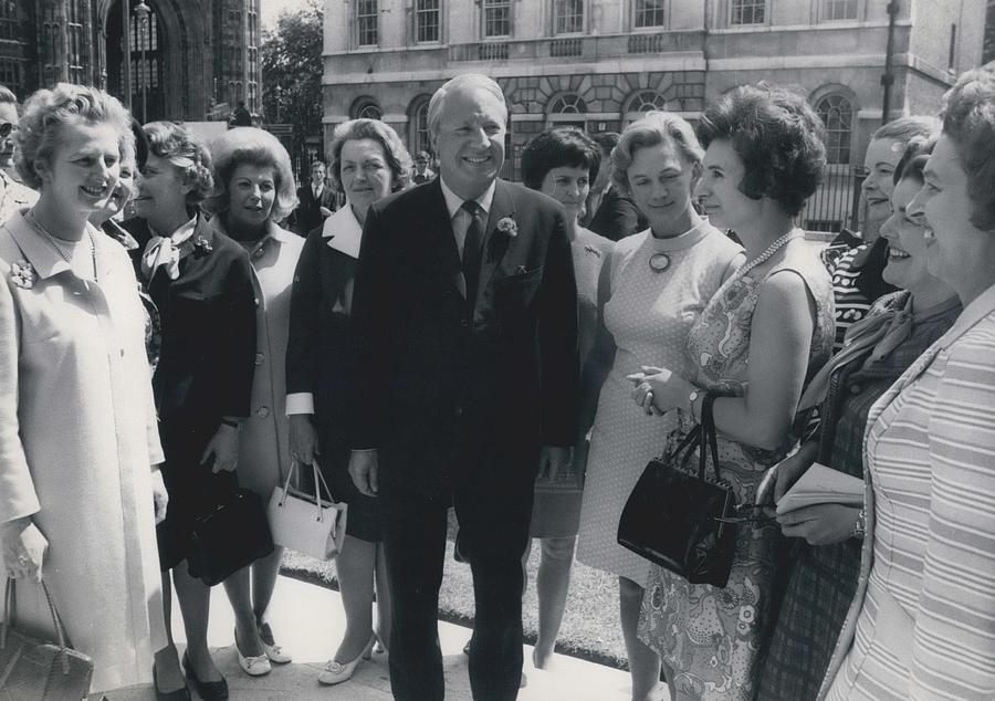 Retro Photograph - Prime Minister Meets Conservative Women M. P ��s by Retro Images Archive