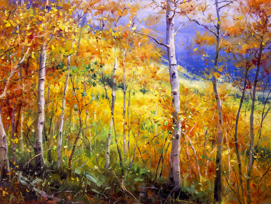 Beautiful Painting - Prime Real Estate by Bill Inman