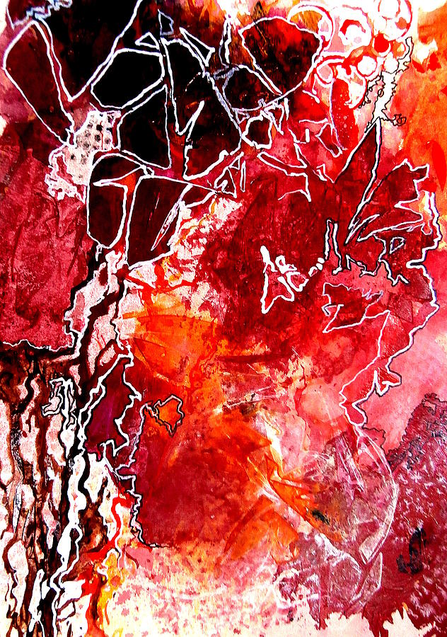 Abstract Painting - Primeval by Buck Buchheister