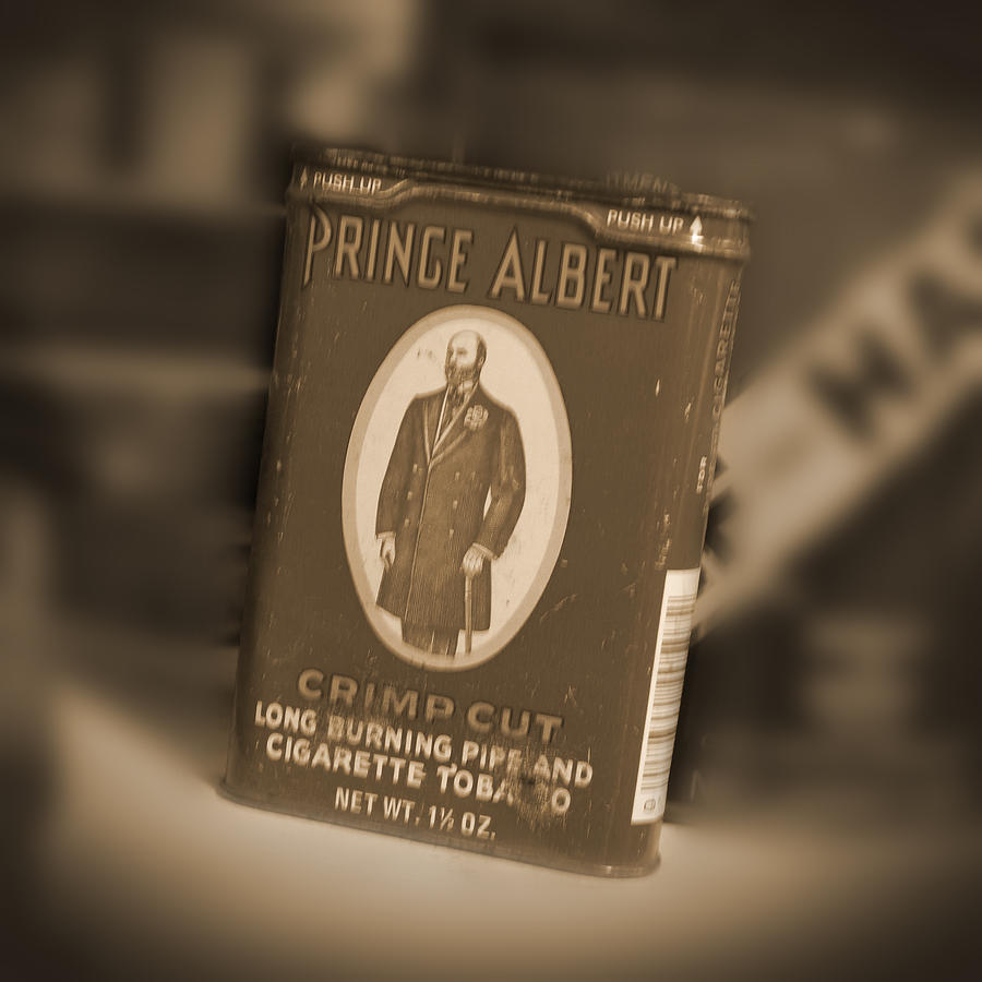 Prince Albert Photograph - Prince Albert In A Can by Mike McGlothlen