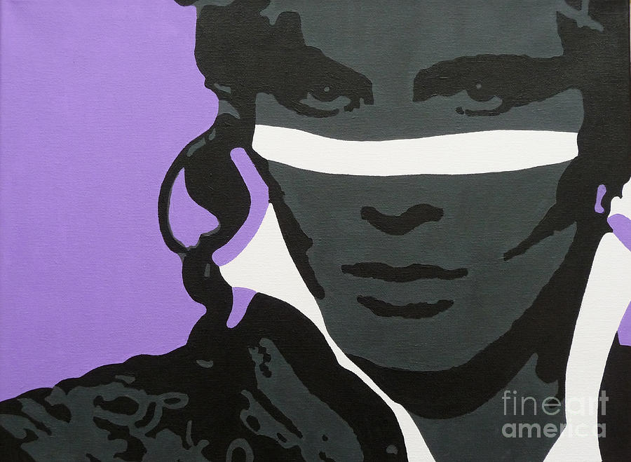 Adam Ant Painting - Prince Charming by ID Goodall