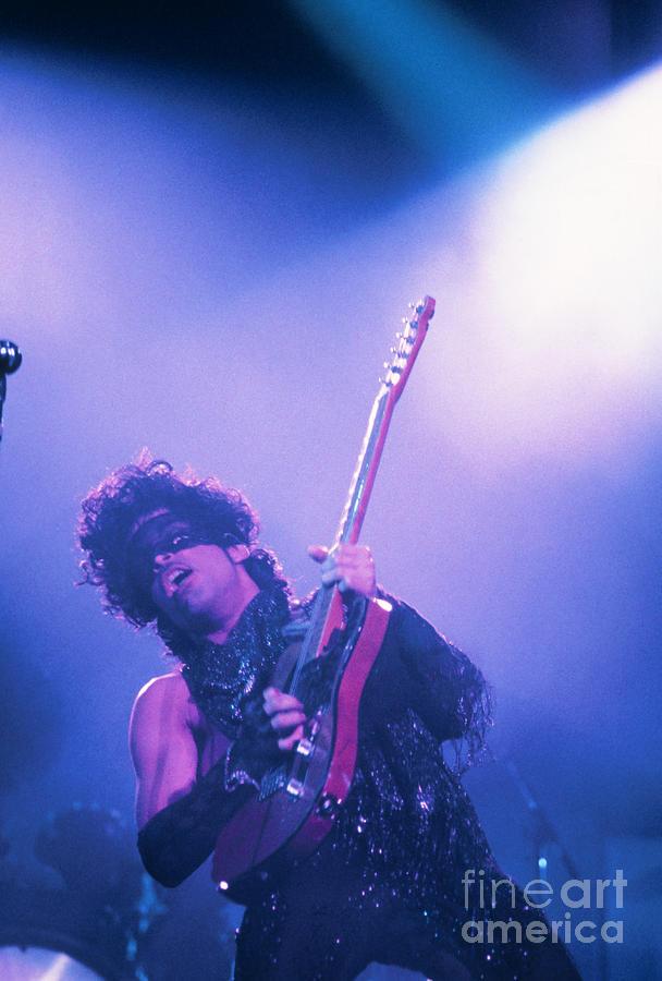 Prince Photograph - Prince by David Plastik