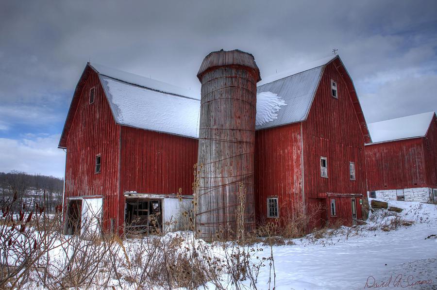 Farms Photograph - Prince Farm by David Simons