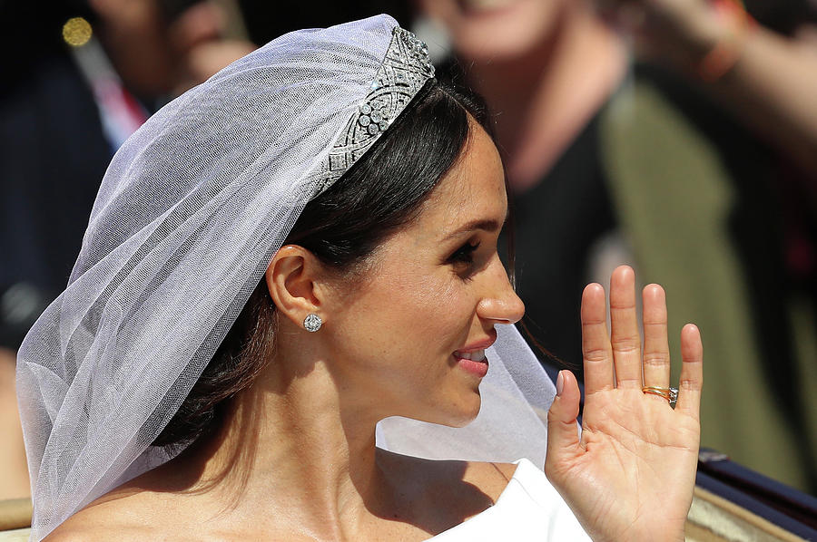 Prince Harry Marries Ms. Meghan Markle Photograph by Matt Cardy