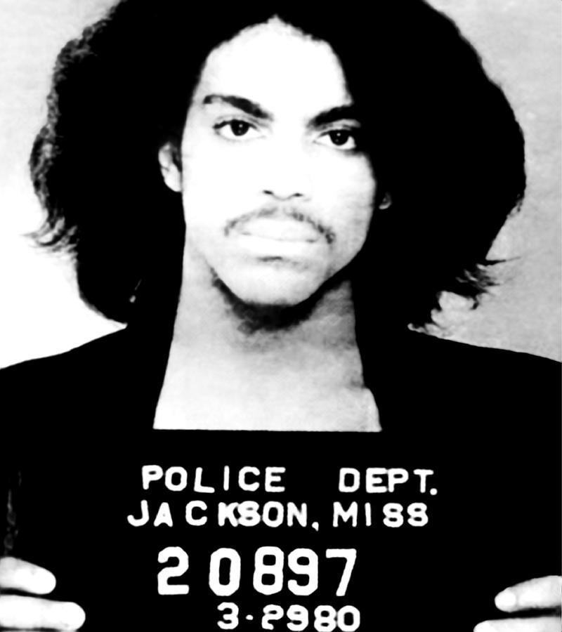 Prince Mugshot Photograph by Bill Cannon