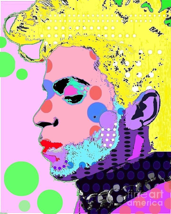 Prince Digital Art - Prince by Ricky Sencion