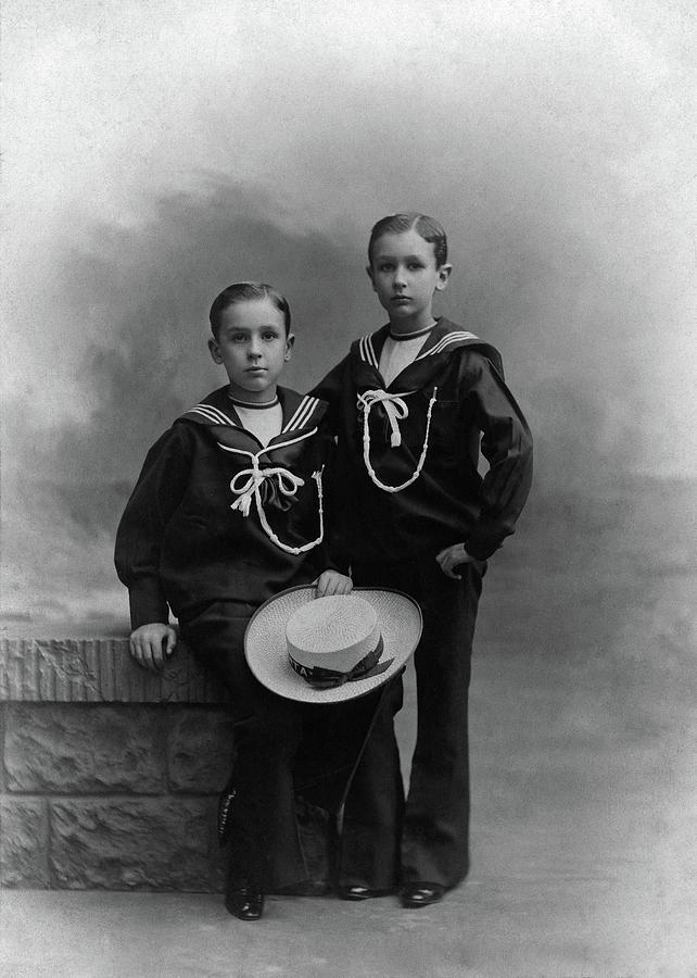 1905 Photograph - Princes Amedeo And Aimone by Granger