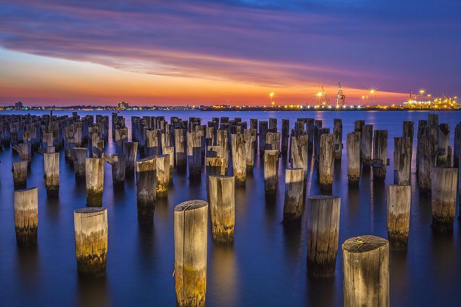Harbour Photograph - Princes Pier by Trevor Middleton