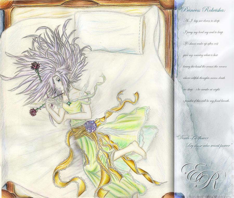 Princess Painting - Princess Altiana Aka Rokeisha by Shawn Dall