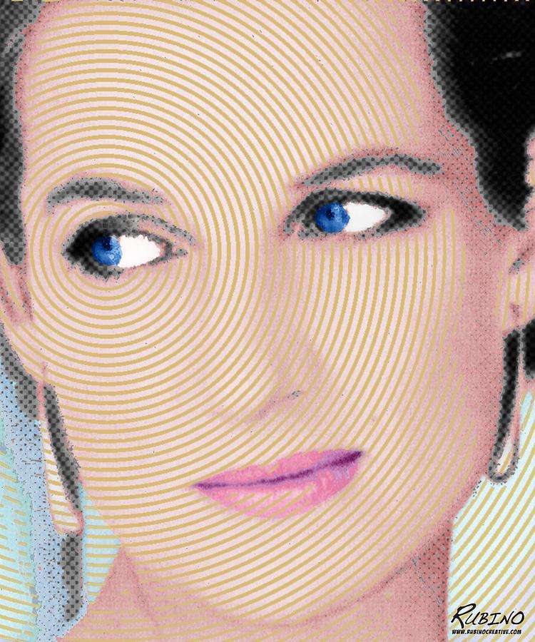 Lady Diana Painting - Princess Lady Diana by Tony Rubino