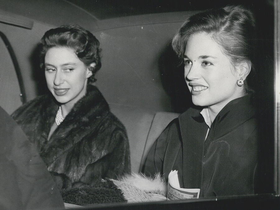 Retro Photograph - Princess Margaret At The Theatre by Retro Images Archive