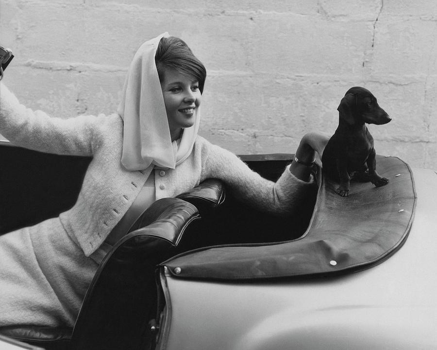 Princess Veriand Windisch-graetz Photograph by Horst P. Horst