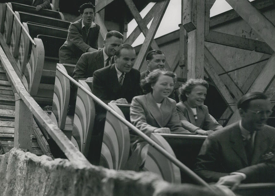 Retro Photograph - Princesses Go To The Fair by Retro Images Archive