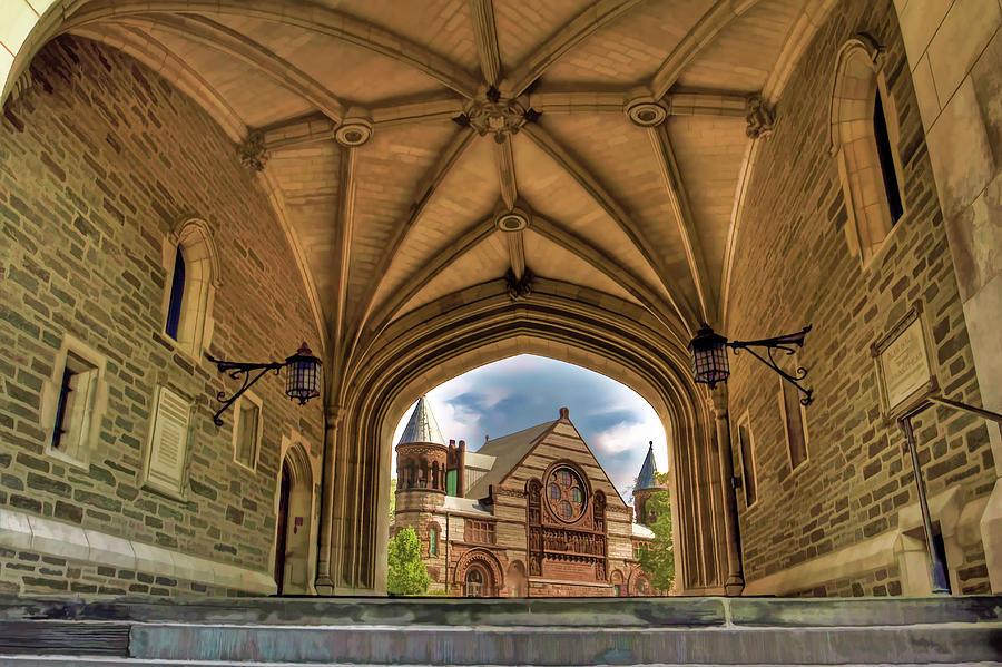 Princeton University College Framed Photograph