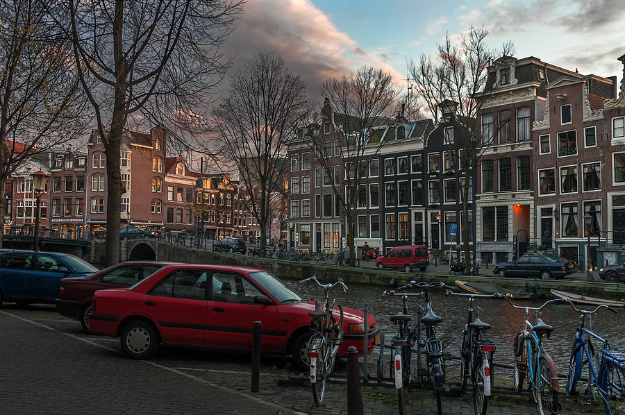 Holland Amsterdam Photograph - Prinsengracht 791. Amsterdam. by Juan Carlos Ferro Duque