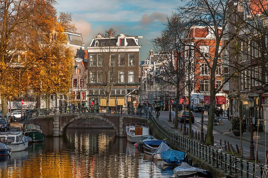 Holland Amsterdam Photograph - Prinsengracht 807. Amsterdam by Juan Carlos Ferro Duque
