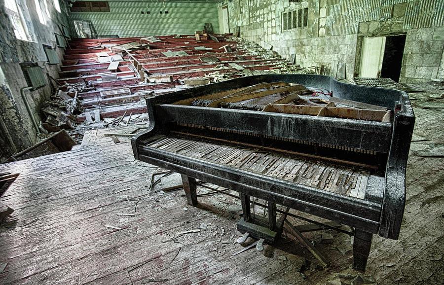 Pripyat Concert Hall Photograph by Oktay Ortakcioglu