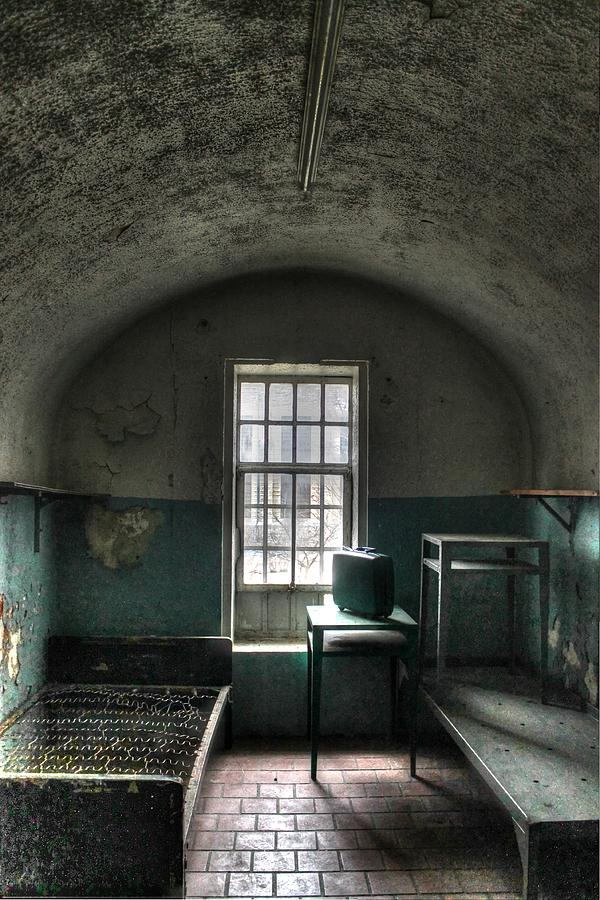 prison cell photograph by jane linders
