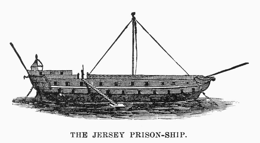 1780s Photograph - Prison Ship: Jersey by Granger