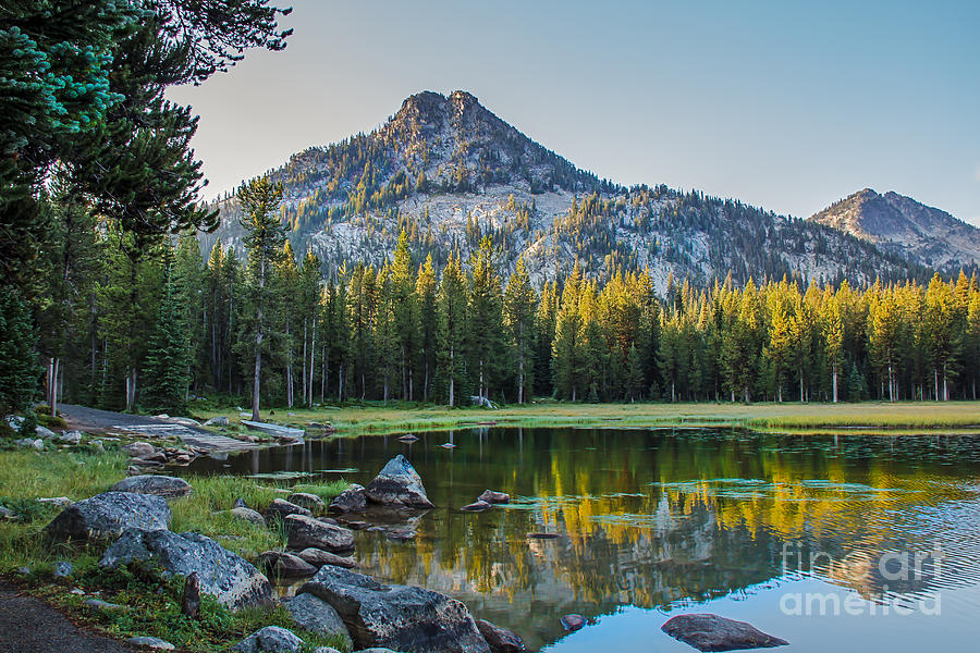 Wallowa Mountains Photograph - Pristine Alpine Lake by Robert Bales