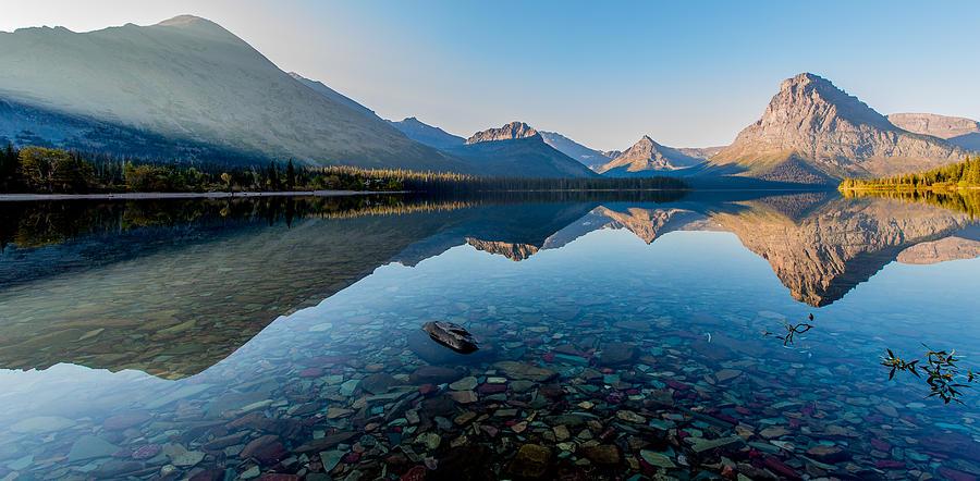 Glacier National Park Photograph - Pristine Lake by Rohit Nair